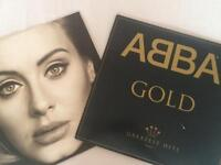 Two records: ABBA and Adel 25
