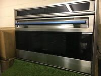 Ex Display Wolf ISO36US Wall Large Oven 36 Inch Gaggenau Miele INC VAT Clive Christian