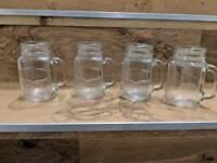 Jam jar cocktail/drinks glasses