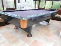 9ft Titan American Pool Table With Free Delivery and Installation