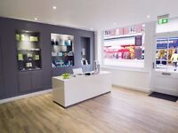 Saturday Receptionist wanted for our award winning dental practice in Waterloo