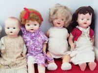 5 Antique, vintage Dolls for sale