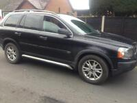 2004 53reg Volvo XC90 D5 SE Automatic Black Cheapest ever 7 seater