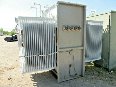 Ge 3000 Kva Substation Transformer 13800 X 600 Volt -make Offer- T683