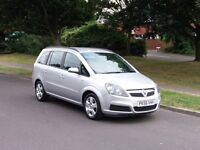 Vauxhall Zafira 1.6 i 16v Club 5dr 7 Seater,,,,,,,£2,495 p/x considered