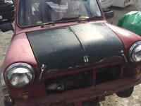 Classic Austin mini Chelsea with 1275 GT engine 1986