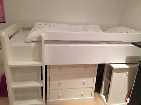Next hearts and stars cabin bed for £300