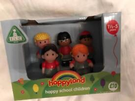 Happyland School Children - great Xmas stocking filler! New and unopened