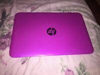 11.6 inch HP laptop Pink