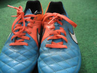 Nike Tiempo football boots UK size 3