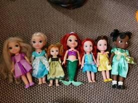 Disney princess toddler dolls collection