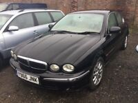 AUTOMATIC JAGUAR XTYPE IN BLACK CREME LEATHER GOOD DTIVER CAME IN PX TODAY ANY TRIAL WELCOME PX WELC