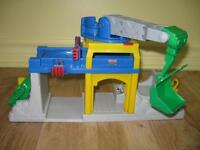 Grue sonore, Cirque sonore, Garage Little People Fisher Price