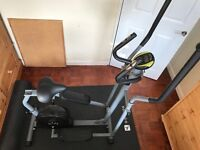 2 in 1 cross trainer exercise bike