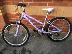 Girls bike excellent condition Rock Python mountain bike - perfect for a for 9-11 year old