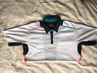 Babolat Match Performance Boy's Polo Shirt (White). Youth 12-14 years.