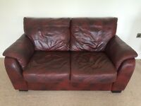Leather Sofa - needs to go by Friday!