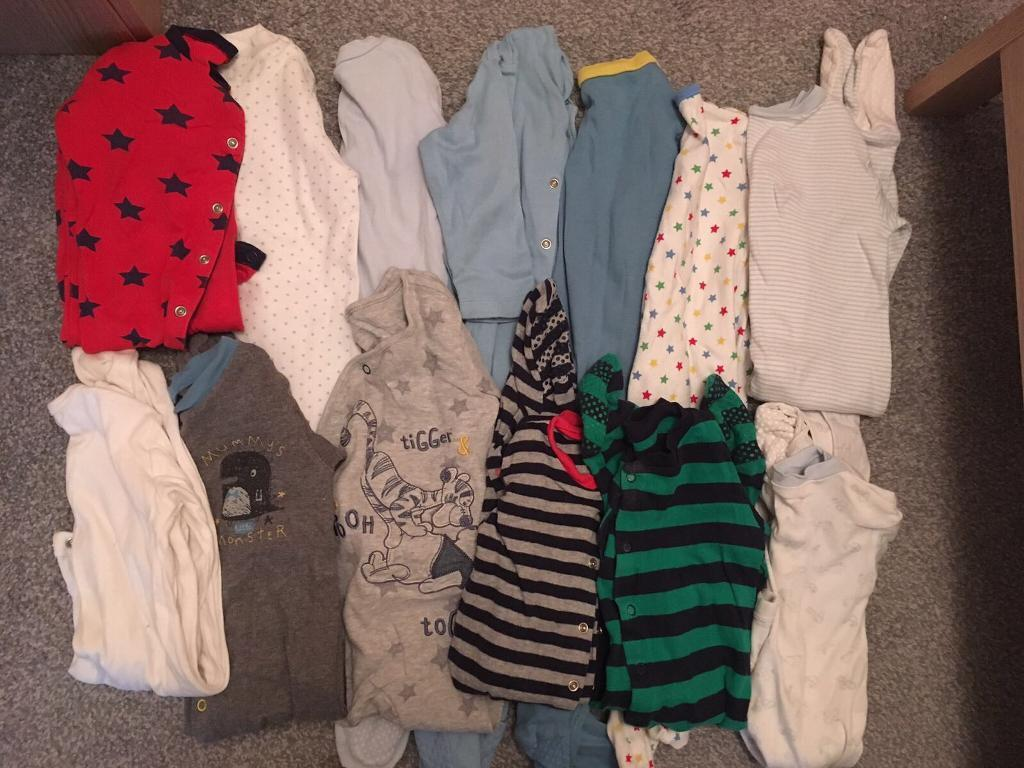 Babygrows - 9 to 12 Months