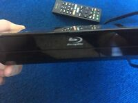 Sony Blu ray with DVD player with BBC Iplayer, netflix, youtube etc