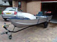boat 12ft aluminium sea nymph