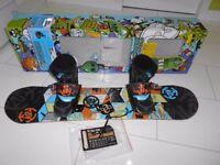 Kids K2 Mini Turbo grom pack Snowboard kit.