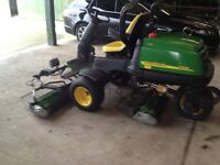John Deere 2500E Diesel Driven Greens Machine mower - Absolute Bargain! - Be Quick