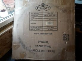 Razor Wire x 10 mts