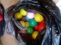 Bag of ball pool balls free