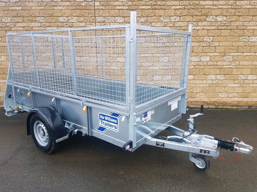 Ifor Williams Trailer Gd84 Plant Trailer Garden Machine