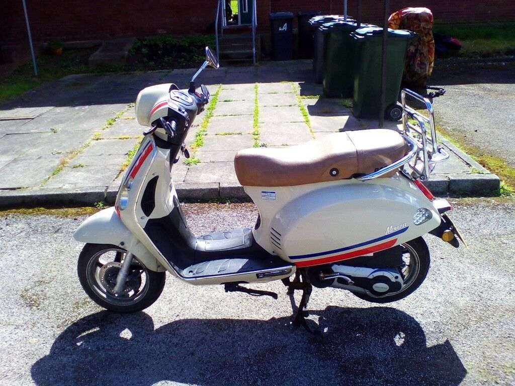 monza 125cc scooter