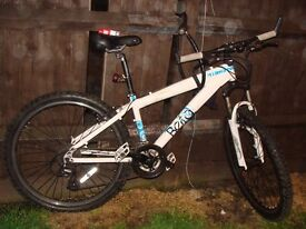 Vectra Overdrive. series 7005 mens aluminium mountain bike Cheep