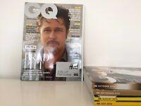 GQ Magazine Issues July-November 2014