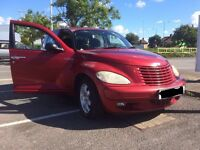 Beautiful Dark Red Chrysler PT Cruiser 2L With Rare Sunroof FOR SALE