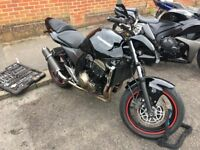 Kawasaki z750 motorbike