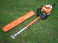 "Stihl HS82 RC 26"" Double Sided Swivel Handle Petrol Hedge Trimmer hs81r hs81t"