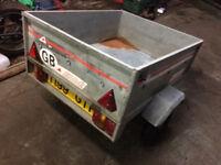 Small galvanized tipper trailer - Erde 101 - £130 o.n.o.
