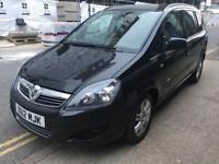 Vauxhall Zafira 2012 52,000 miles 7 Seater Service History