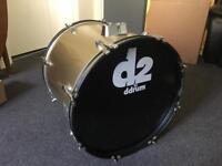 Bass Drum Ddrum 2d Gold