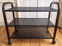 Metal trolley, 3 shelves, great condition