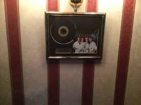 Abby framed CD and Picture.