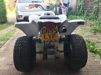 Road legal quad bike 250 quadzilla not raptor Yamaha Suzuki ltz ltr