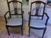 Pair of Carver Dining Chairs