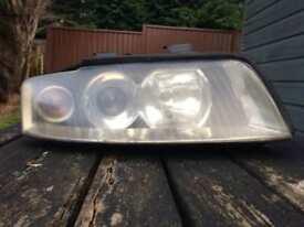 Audi A4 B6 headlight