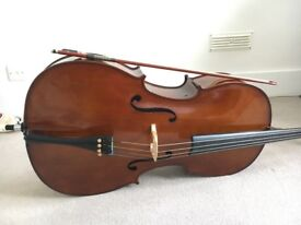 4/4 CELLO FOR SALE: GOOD AS NEW! Bow and case included and in amazing condition.