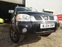 04 NISSAN NAVARA OUTLAW 2.5 TWIN CAB 4X4,MOT AUG 017,3 OWNERS,PART HISTORY,2 KEYS,LOVELY EXAMPLE