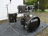 Tama Swingstar 5 drum kit with stands,pedals and stool - great condition