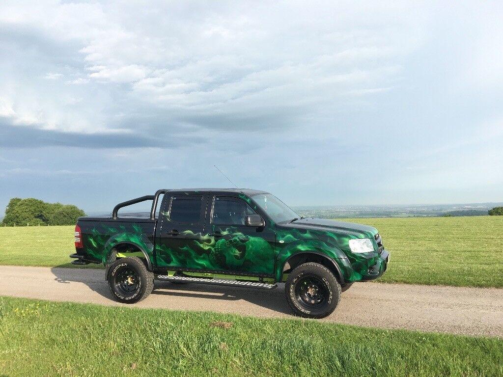 Ford ranger xlt thunder 4x4 custom modified