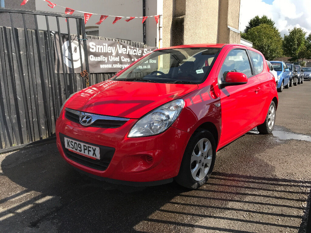 Hyundai I20 Red 1.2 Petrol Manual 3 Door Hatchback 2009 Stunning Car