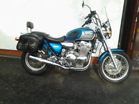 Triumph Adventurer motor bike 1 owner garaged from new .