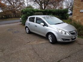 VAUXHALL CORSA 2010 1,2 LITRE , VERY CLEAN INSIDE AND OUT £3250 ONO